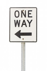 -One-Way-Sign