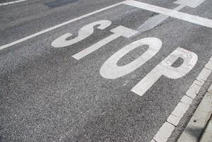 STOP-pavement-marking