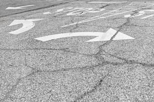 Turning-lanes