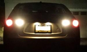 Image 3.16 Back Up Lights Night