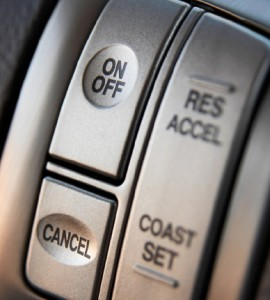 Image 3.26B Cruise Control Buttons