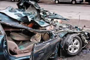 Compact-car-crash