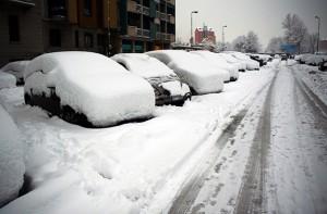 Parking in Snow