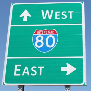 East & West Interstate 80
