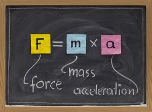 Force Mass Acceleration