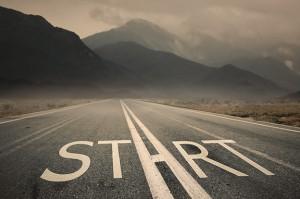start on road