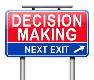 Making-a-decision